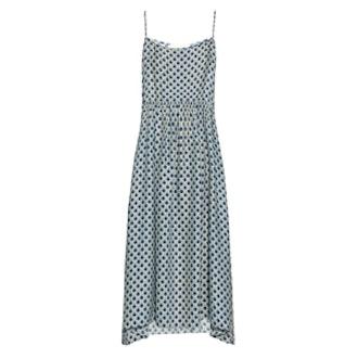 The Tea Time Silk Midi Dress