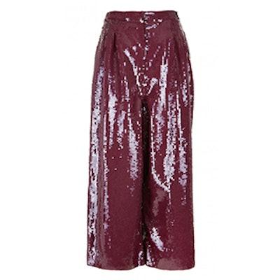 All Over Sequins Nerd Pants