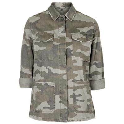 Authentic Camo Jacket