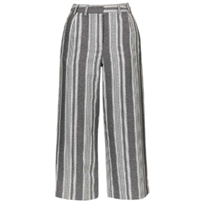 Awkward Stripe Trousers