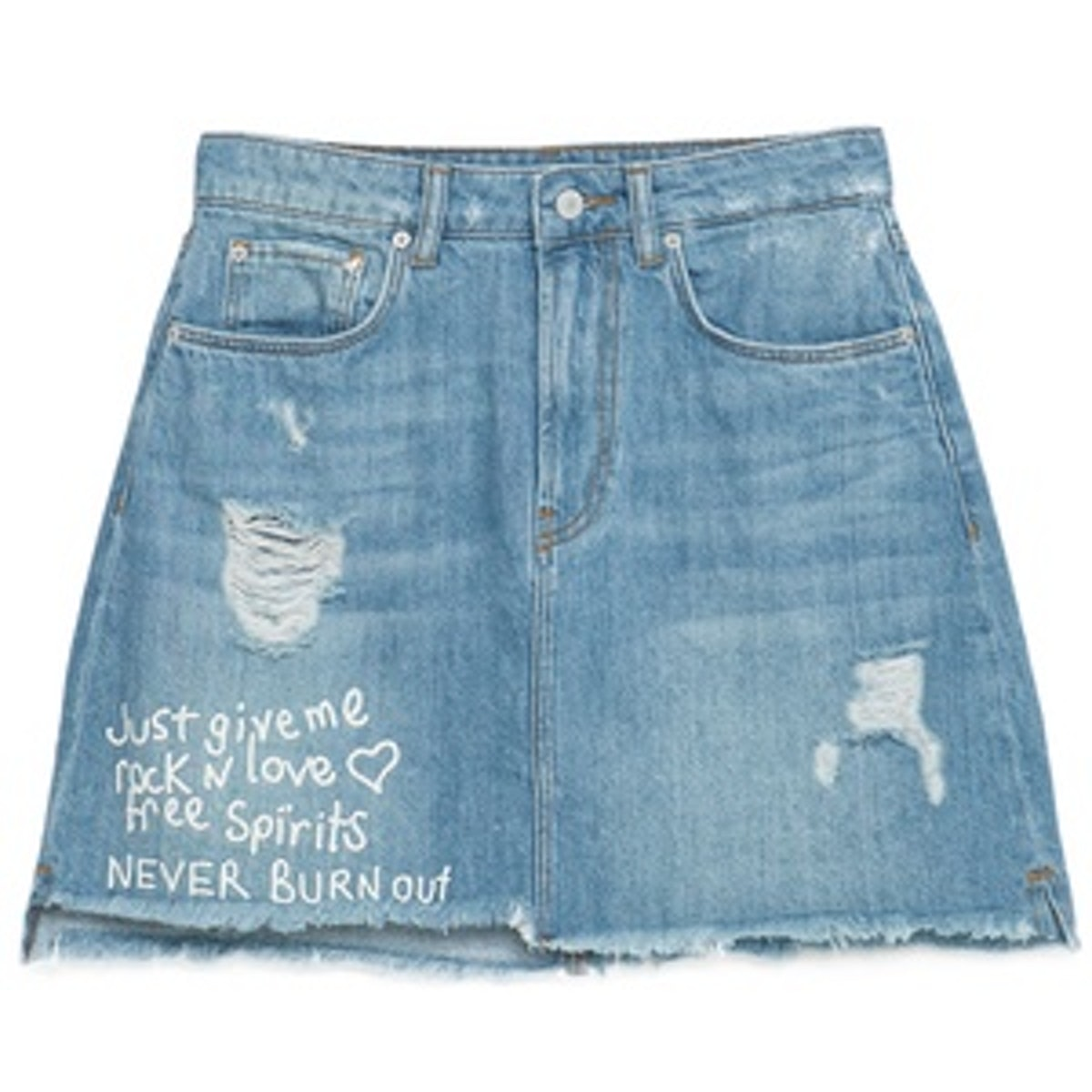 """I Am Denim"" Collection Skirt"