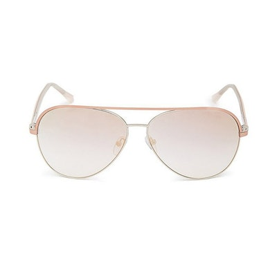 Daffany Gradient Aviator Sunglasses