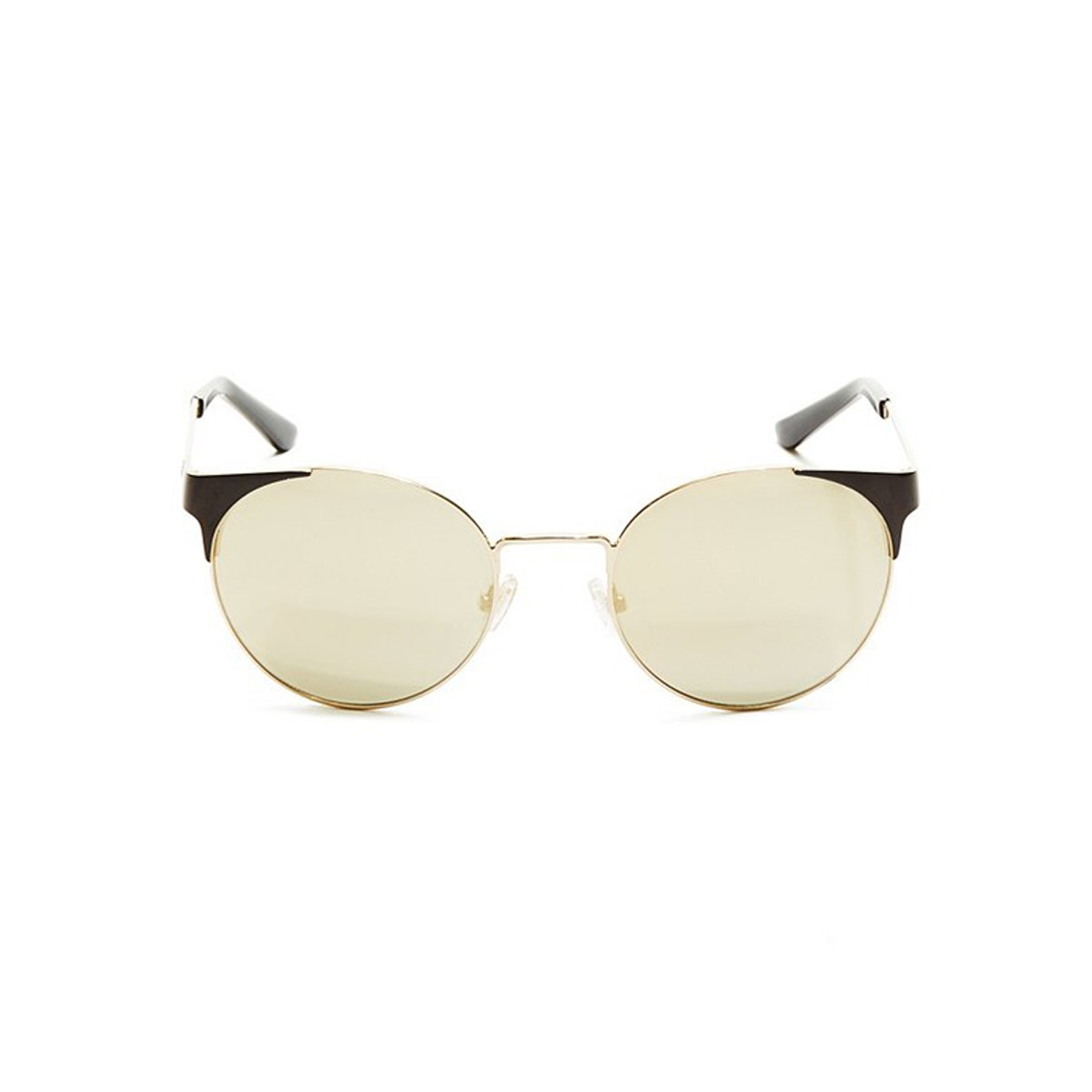 Lia Mirrored Round Sunglasses