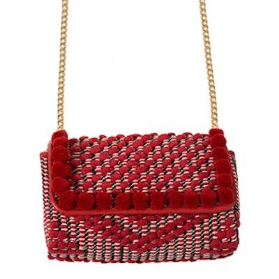 Pompom Crossbody Bag