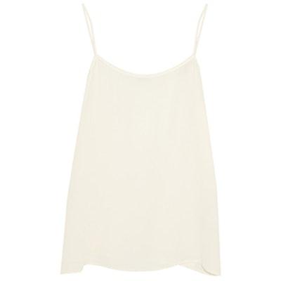 Cara Washed-Silk Camisole