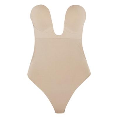 U-Plunge Self-Adhesive Backless Bodysuit