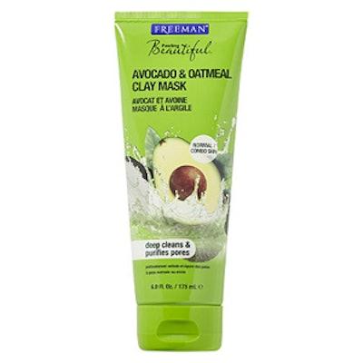 Avocado & Oatmeal Facial Clay Mask