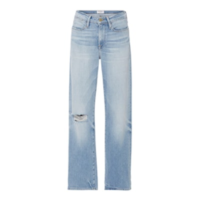 Le High '70s Straight Legged Jeans