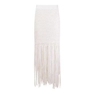 Long Tricot Skirt