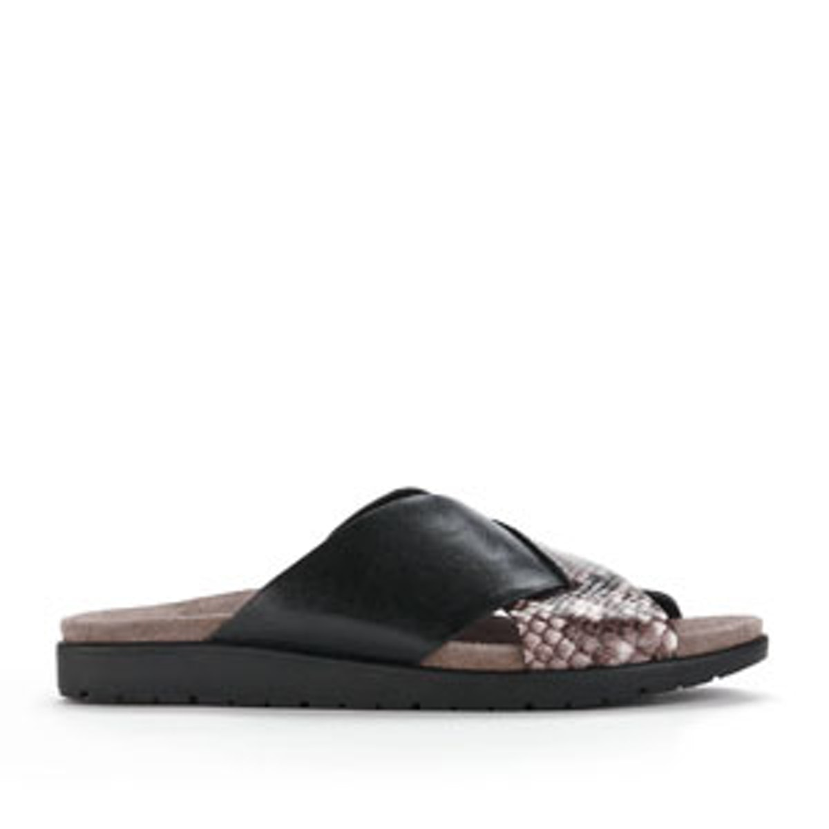 Maxwell Leather Slide