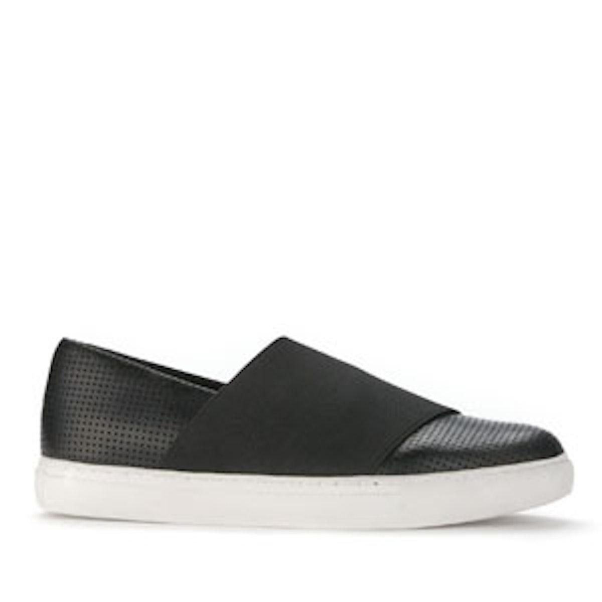 Kingliest Leather Low-Top Sneaker