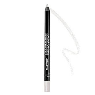 Aqua Eyes Waterproof Eyeliner in Pearl White Sheen