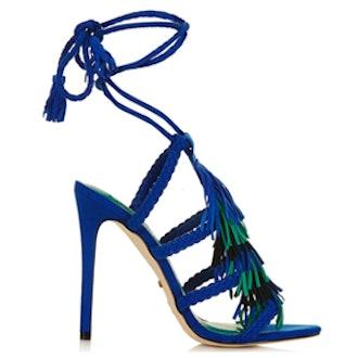 Fringe Braided Sandals