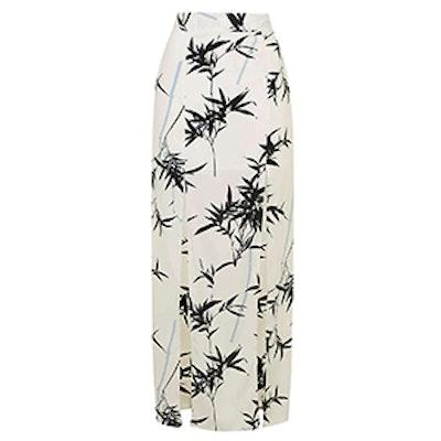 Bamboo Split Maxi Skirt