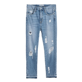 Relax Fit Multi-Rip Jeans
