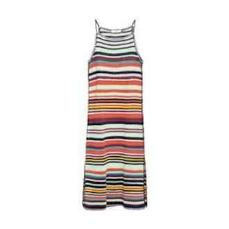 Mulitcolored Crochet Dress