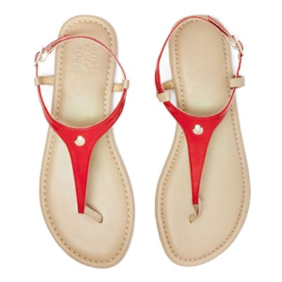 Red Patent Sandal