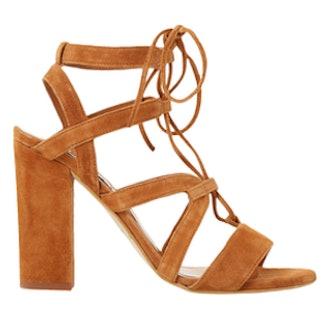 Marlow Suede Heeled Sandals