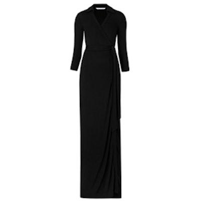 Abigail Maxi Jersey Wrap Dress