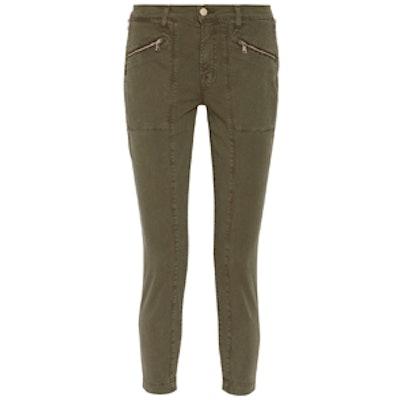 Genesis Stretch-Cotton Twill Skinny Pants