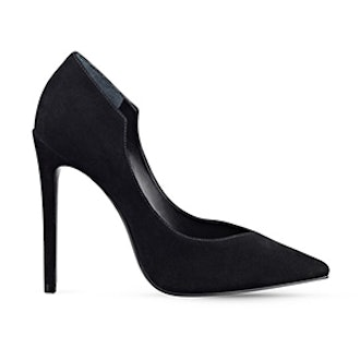 Abi Suede Pointed Toe Pumps