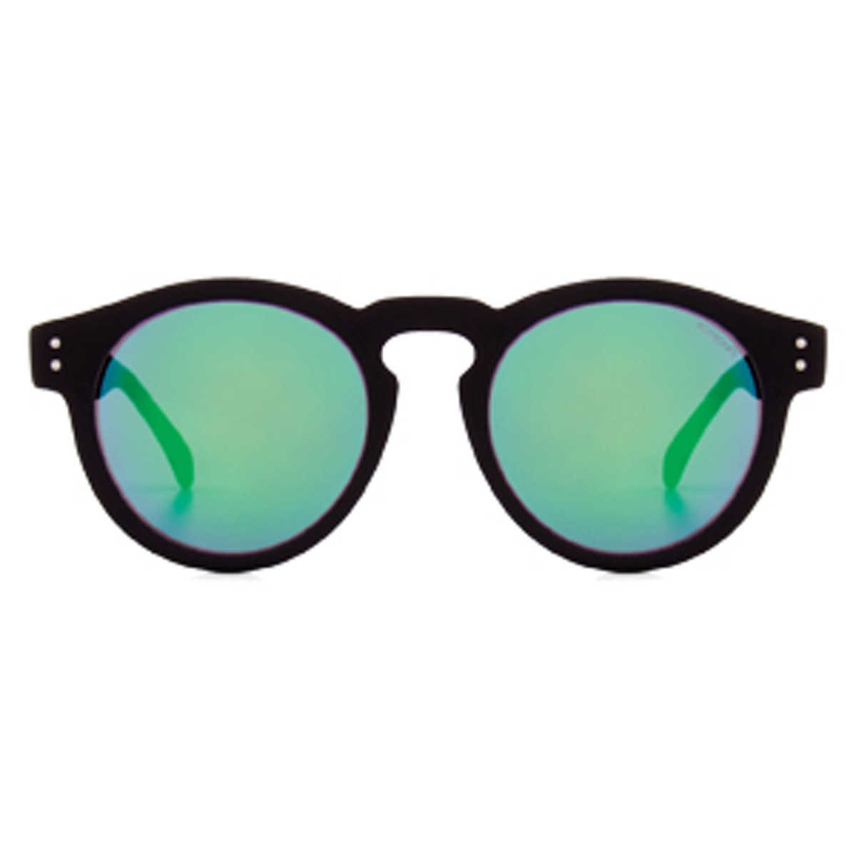 Clement Black Rubber Sunglasses