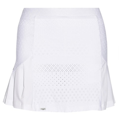 Stretch-Lace Tennis Skirt