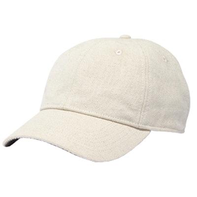 Linen-Cotton Baseball Cap