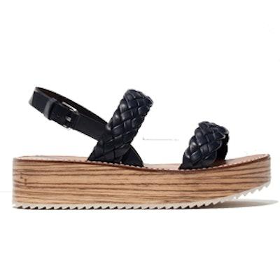Plaited Platform Sandals
