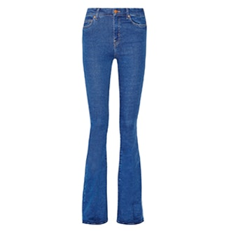 The Bodycon Marrakesh High-Rise Flared Jeans