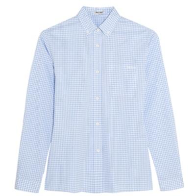 Gingham Cotton-Poplin Shirt