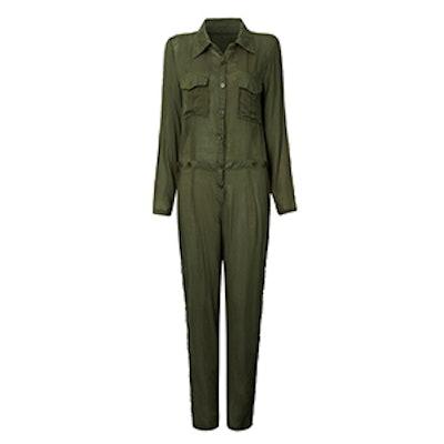 Button Pockets Jumpsuit