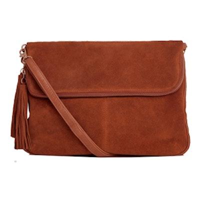 Suede Cross-body Bag