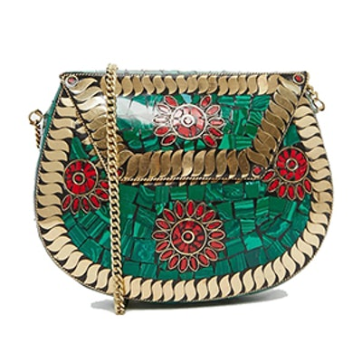 Vintage Look Mini Shoulder Bag
