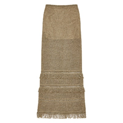 Liesel Metallic Linen Skirt