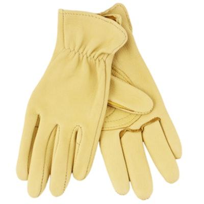Deerskin Gardening Gloves