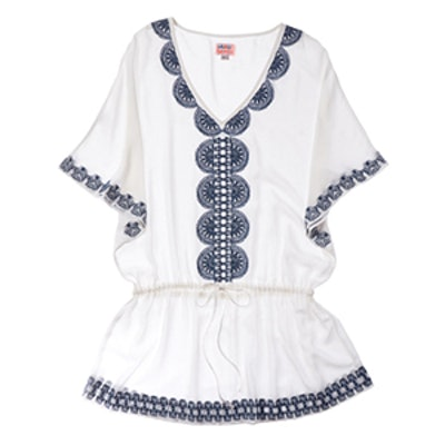 Embroidered Tunic In White