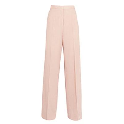 Elsmere Wool-Gabardine Wide-Leg Pants