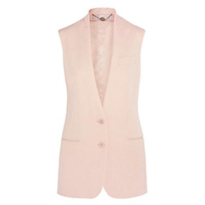 Ernest Wool-Crepe Vest