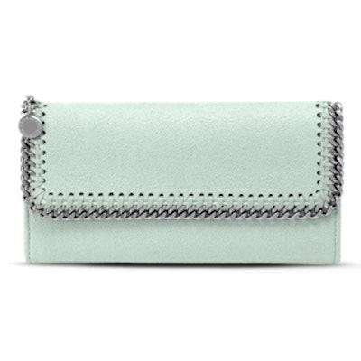 Mist Falabella Flap Wallet