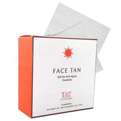 Face Tan Towels