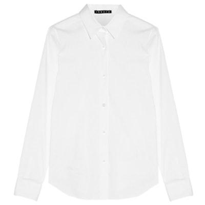 Tenia Cotton-Blend Shirt