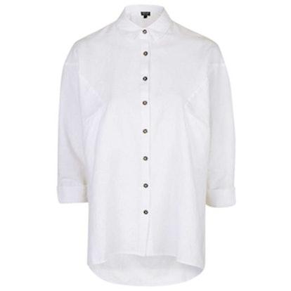 Oversized Chambray Shirt