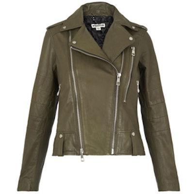 Payne Leather Biker Jacket