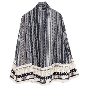 Navy Folk Kimono