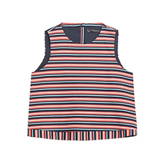Double Layer Striped Top