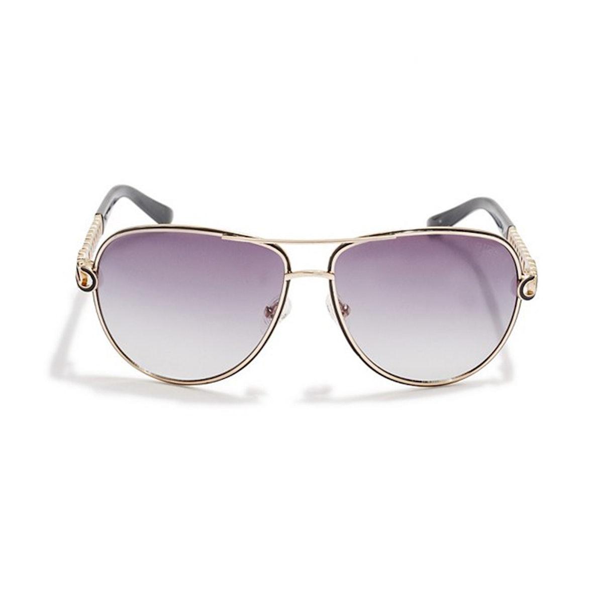 Laura Chain Aviator Sunglasses