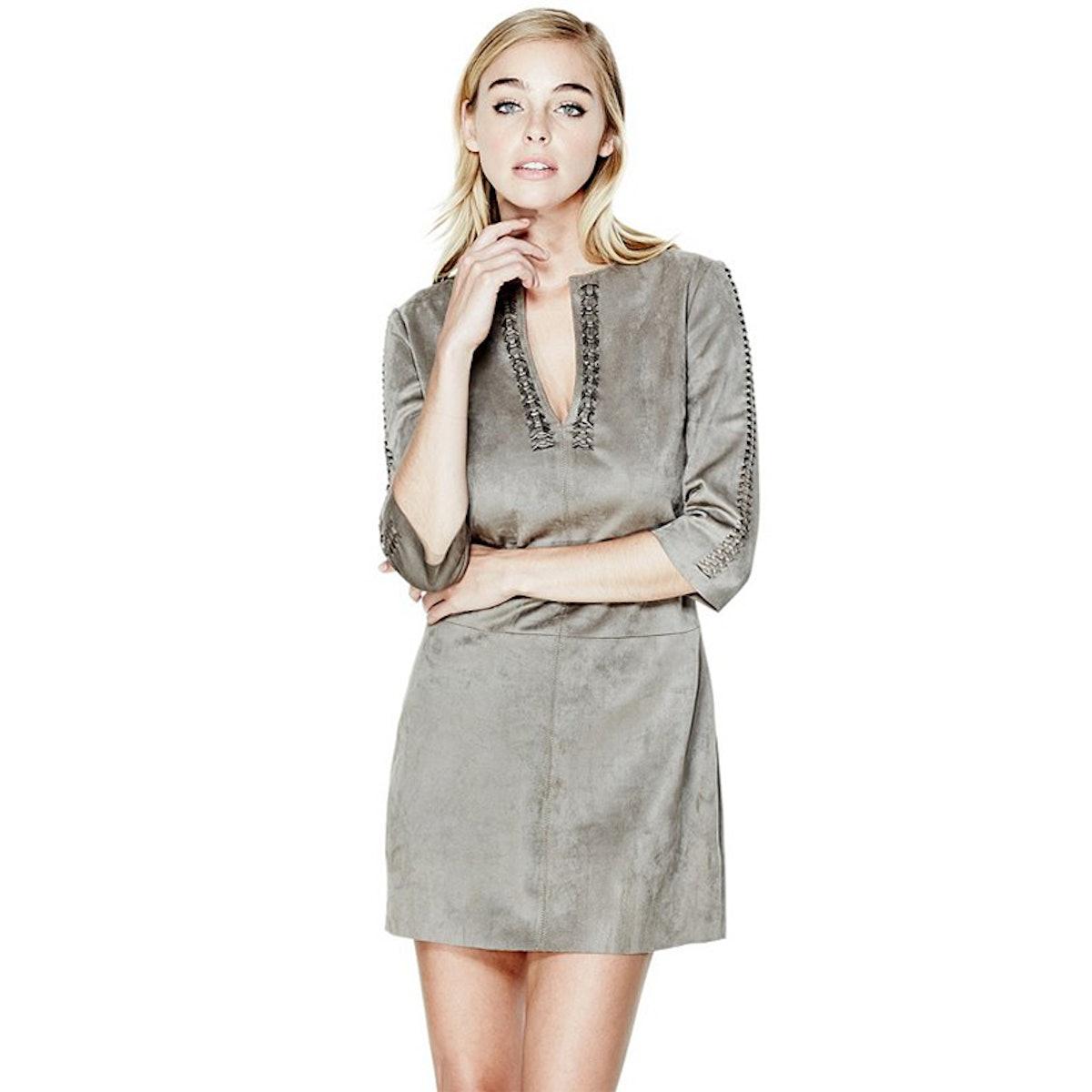 Bellaire Three-Quarter Sleeve Dress