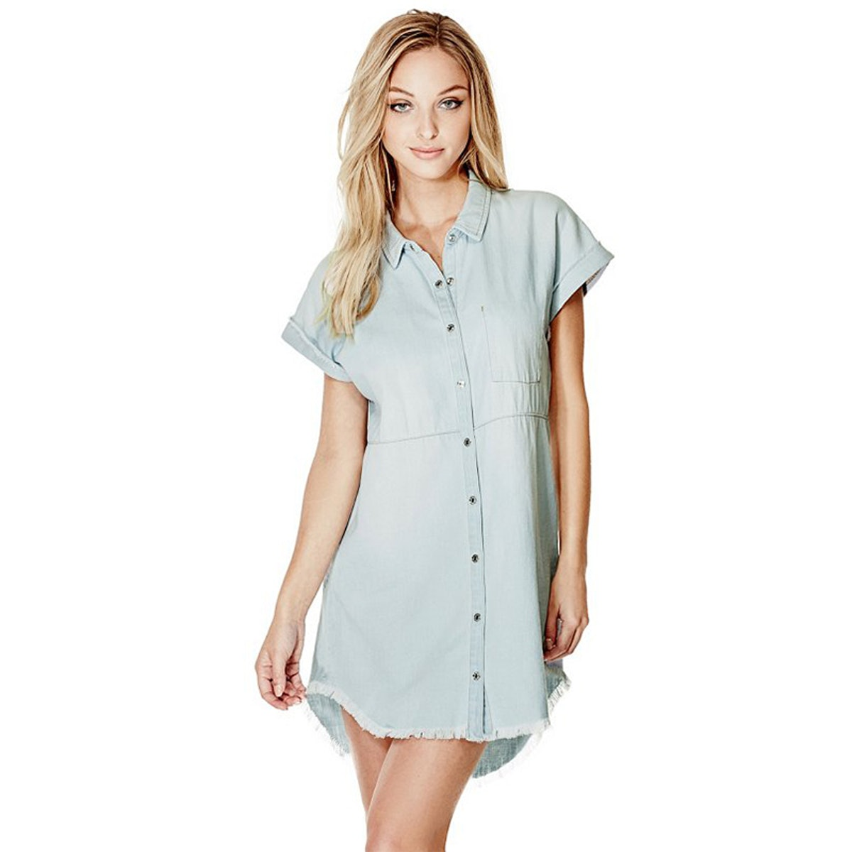 Casey Denim Shirtdress