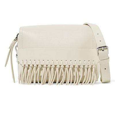 Bianca Small Fringed Leather Shoulder Bag